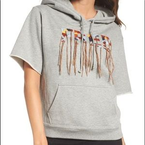 Free People Gray Movement Freestyle Hoodie XS